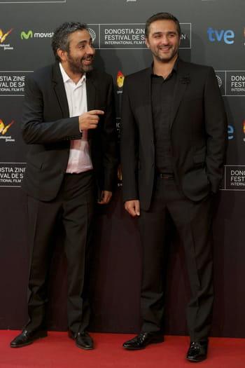 eric toledano et olivier nakache au gala de clôture du 62e festival du film de