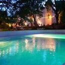 Le Manoir de Courbessac  - un parc, une piscine,un restaurant,  un club.piano bar.. -   © Ben Colibri