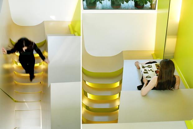 L'escalier comme espace de vie