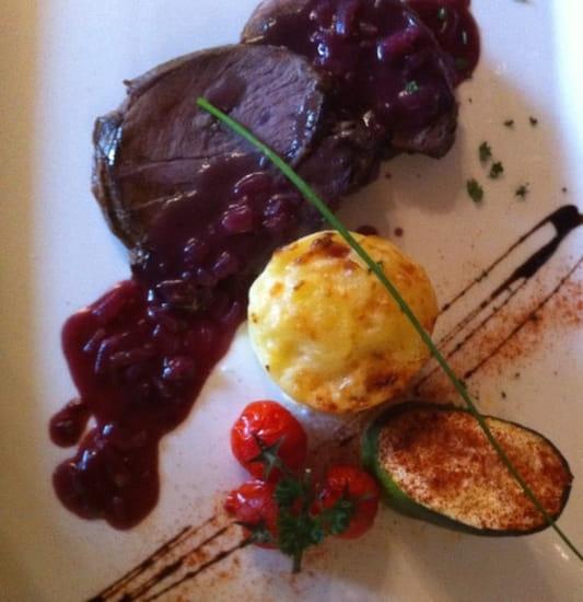 Plat : Chez Barbara  - Cerf avec gratin dauphinois -