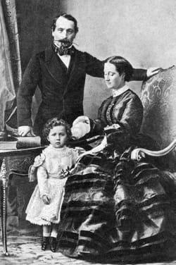 Napoléon III portrait de famille