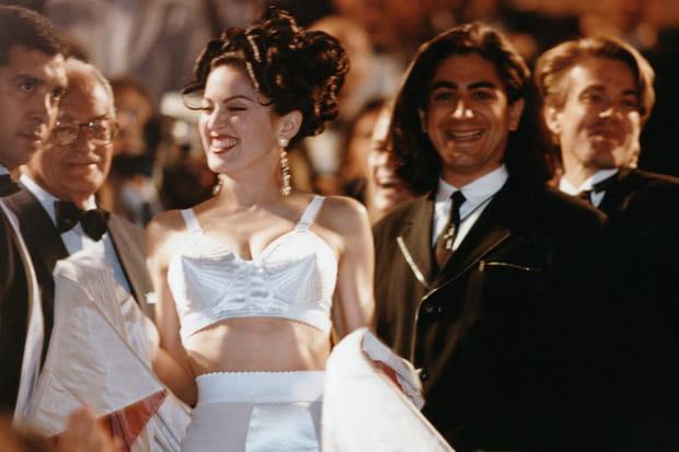 Madonna à Cannes en 1991