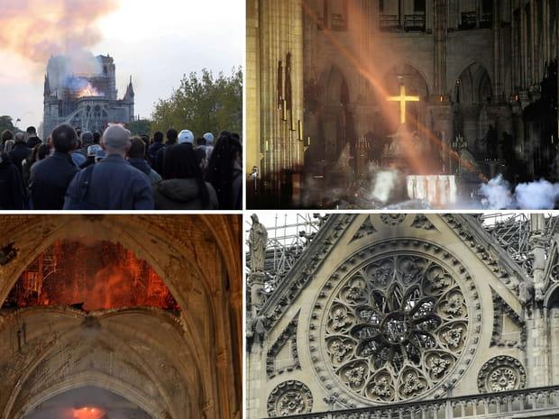 Le immagini della Madonna devastate dopo le fiamme