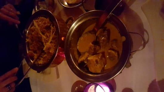 Plat : Karishma Lounge  - Cury d'agneau et Birmanie crevette -