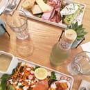 Brunch : Ninaco  - assiettes salées d'un brunch -   © Photo Ninaco