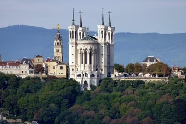 La basilique Notre-Dame de Fourvière, Lyon