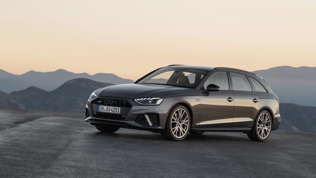 L'Audi A4restylée en images