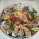 Hotel Restaurant le Normand  - plateau de fruits de mer -