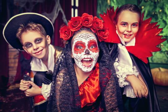 Maquillage d'Halloween: idées et tuto pour un maquillage facile qui fait peur