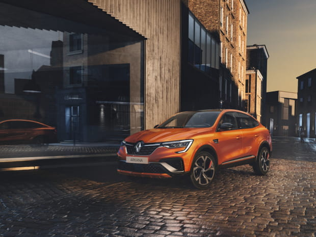 Le Renault Arkana en images