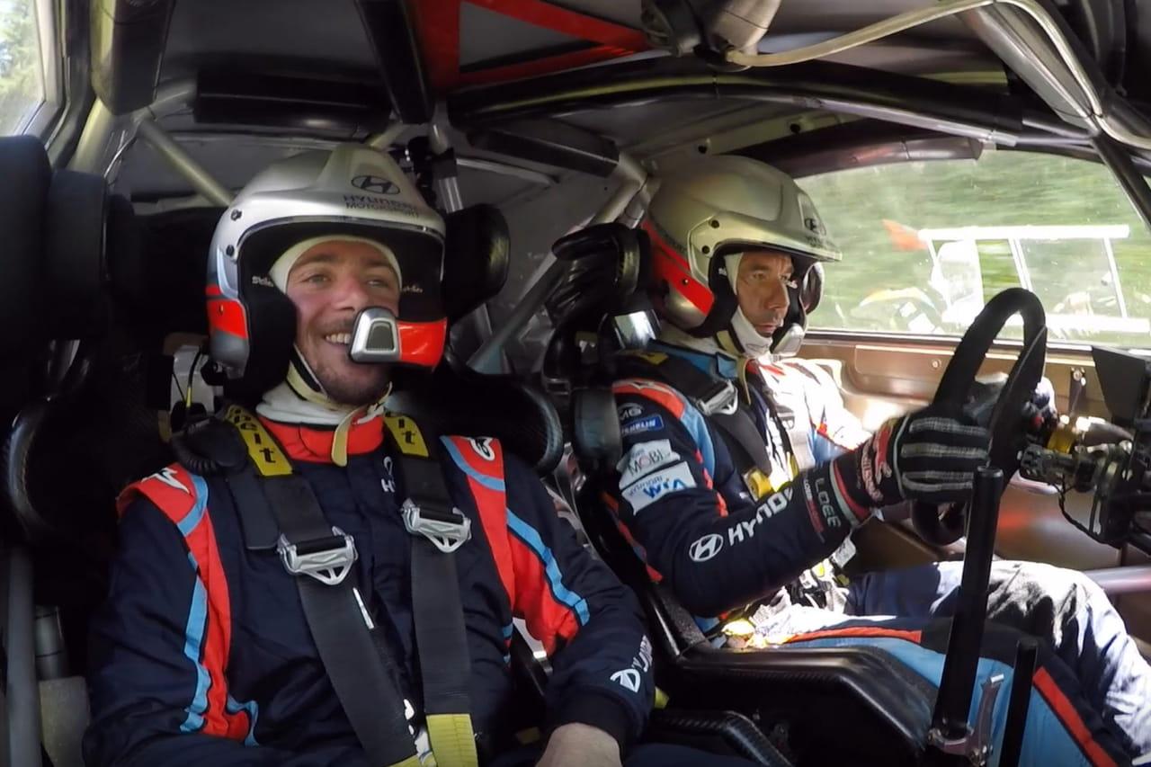 Sébastien Loeb: on est monté à bord de la Hyundai de rallye avec lui! VIDEO