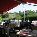La Malicette Restaurant , Chambres et Gîte à Louer  - la terrasse -