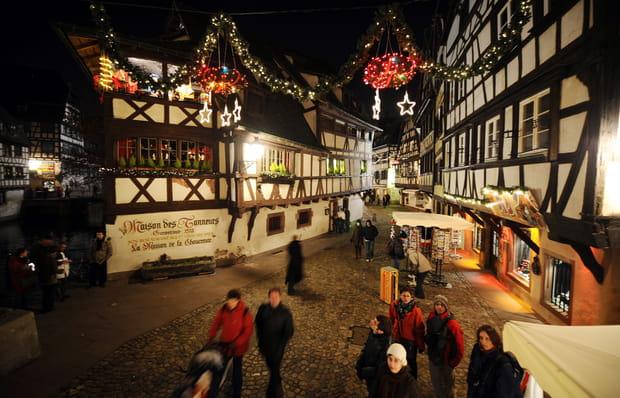 Le Marché de Noël dans les rues de Strasbourg