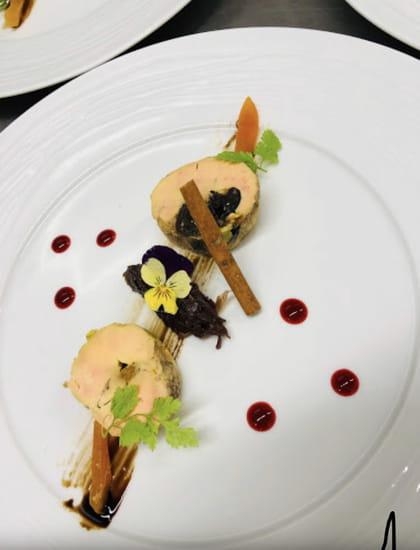 Entrée : Restaurant MC   © Foie gras