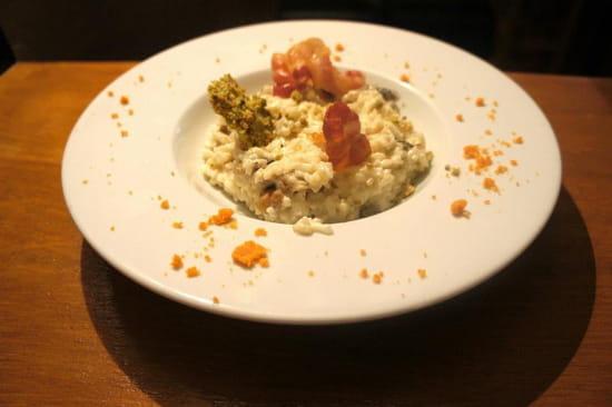 Le Maquis  - risotto panzetta champignons -