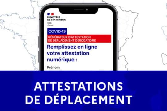 Attestation de déplacement (Covid): un nouveau document pour les nouvelles règles