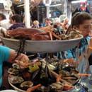 Plat : La Marine  - Excellent plateau de fruit de mer -