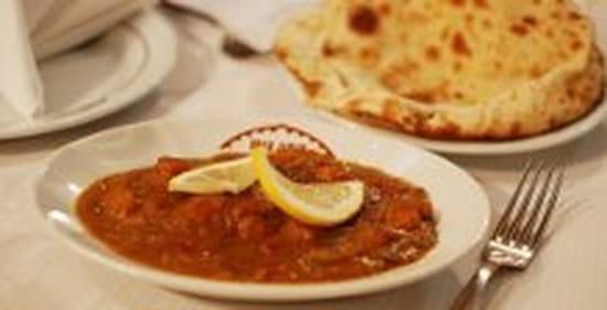 Restaurant indien Shah Jahan  - exemple de plat -