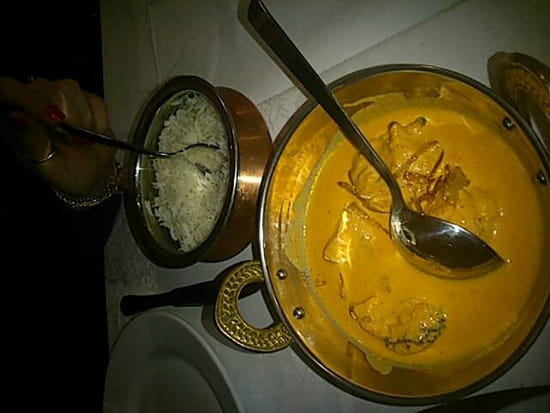 Plat : Restaurant Indien Suraj 15  - Butter chicken -