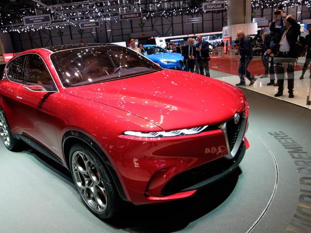 Le concept Alfa Romeo Tonale en images