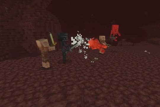 Minecraft: comment obtenir de la netherite?