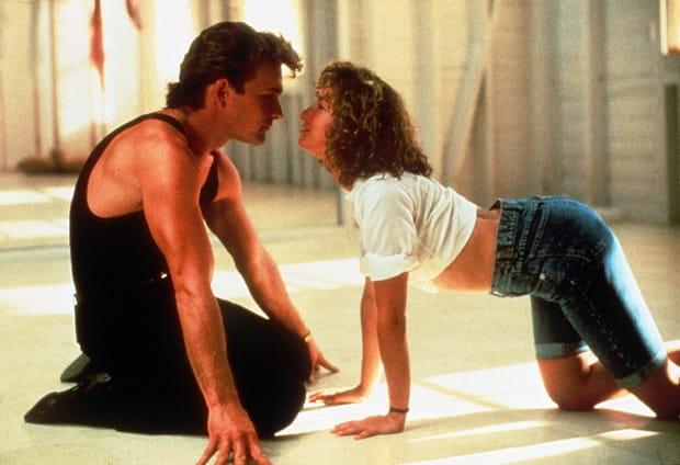 "Patrick Swayze et Jennifer Grey dans ""Dirty Dancing"""