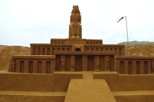 Temple de sable
