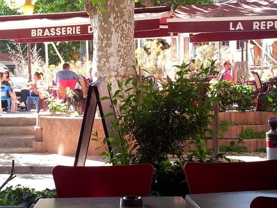 Brasserie de la République  - notre terrasse -