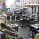 A la Table du Bon Roi Stanislas  - terrasse du restaurant -   © jonathan seeleuthner