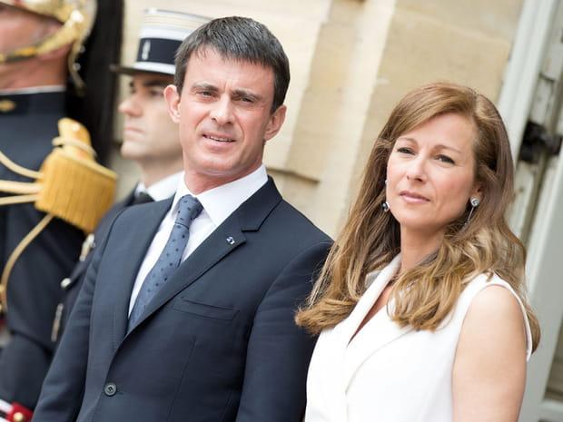 Manuel Valls et Anne Gravoin, leur amour en images