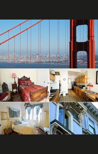 Appartement victorien dans San Francisco