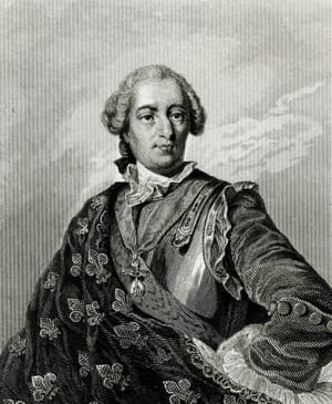 Louis 15 portrait