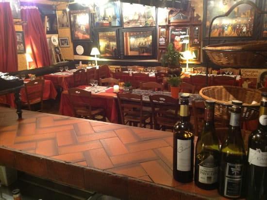 La Charrette  - Vue du bar  -