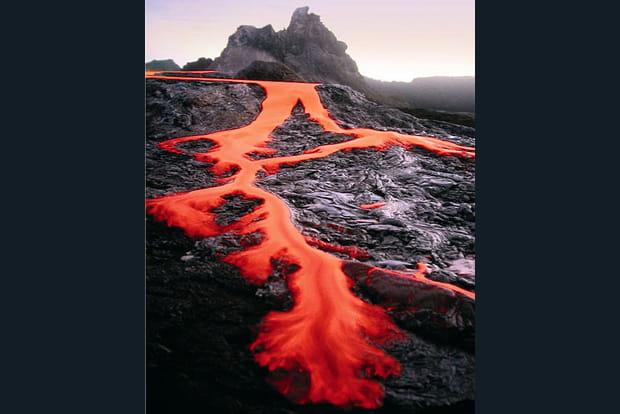 Coulées lave