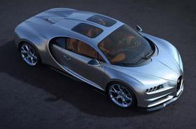 Bugatti Chiron: la version Sky View présentée, des photos