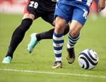 Football - Valenciennes (L2) / Lorient (L2)