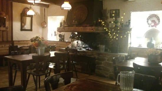Restaurant : Chez Franz  - Cheminée -