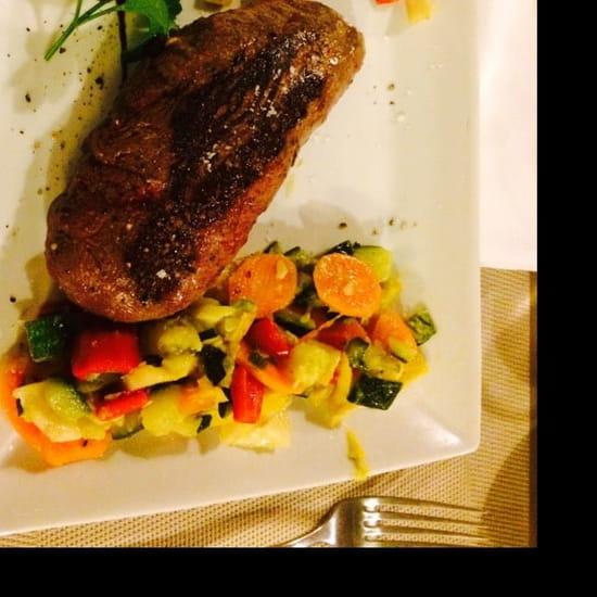 Plat : La Grange  - Magret façon Flo ! DIVIN ! Et les légumes EXCELLENT ! Merci qui ? Merci Flo !   -
