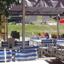 Le Marmiton  - la terrasse en été -   © les gérants