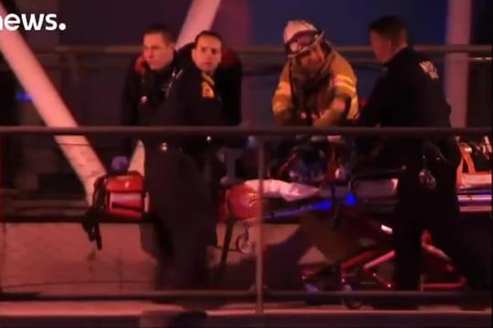 VIDEO - Accident d'hélicoptère à New York: les images, ce que l'on sait