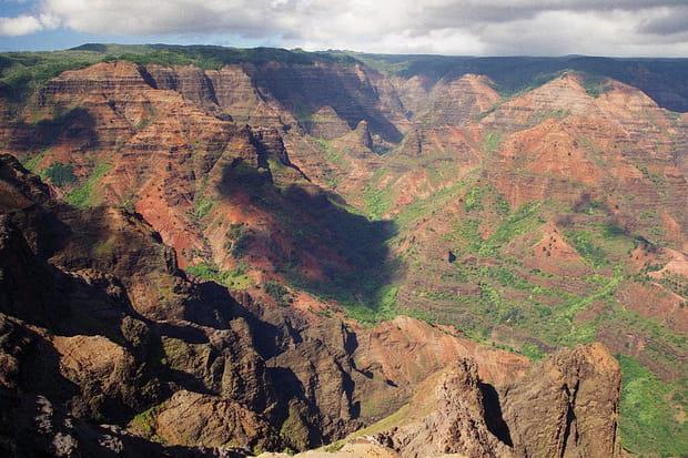 Waimea Canyon, Hawaï