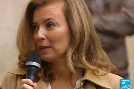 """Valérie Trierweiler: une""""crise de nerfs"""" àl'origine desonhospitalisation?"""