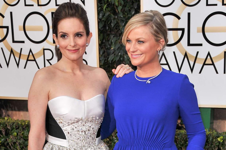 Tina Fey et Amy Poehler, présentatrices des Golden Globes 2021 - Cultea