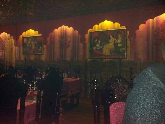 Restaurant : Le Taj Mahal