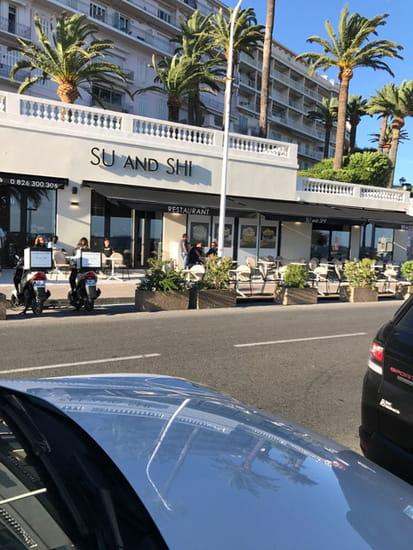 Restaurant : Suandshi Cannes  - Terrasse de dégustation restaurant sushis Cannes -   © Suandshi Cannes