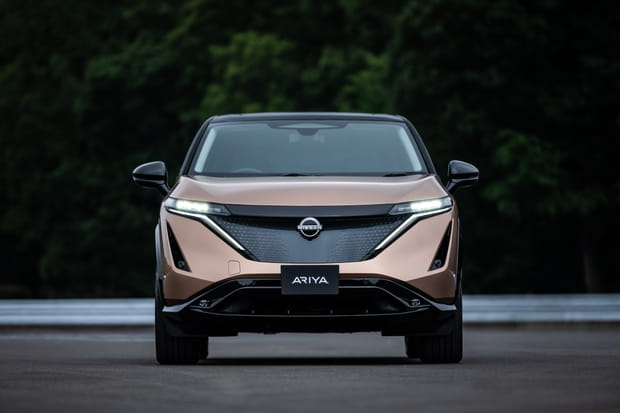 Le SUV électrique Nissan Ariya en images