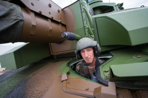 Pilote d'un char Leclerc