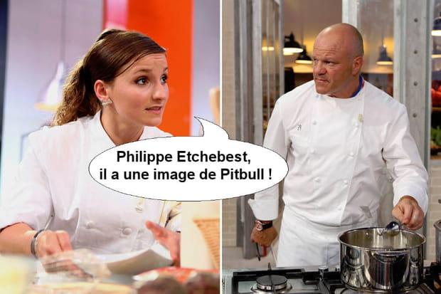 """Noémie à propos de Philippe Etchebest: """"Il a une image de Pitbull!"""""""