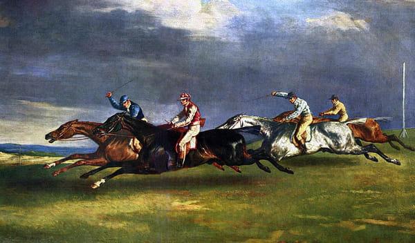 Théodore Géricault - Le Derby d'Epsom