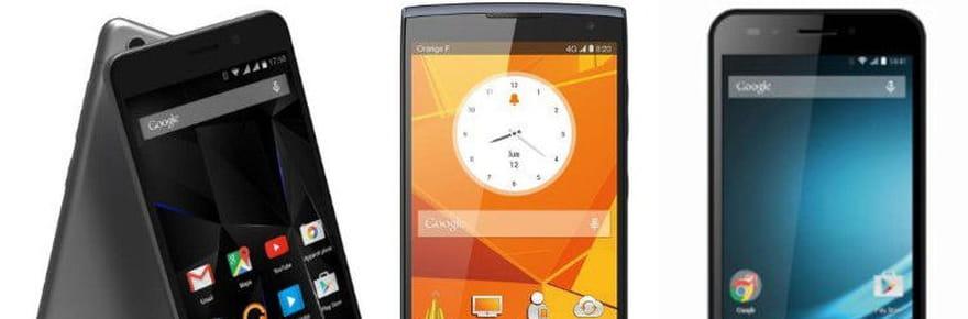15 bons smartphones entre 100et250euros